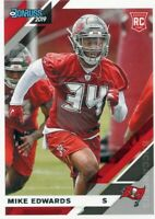 2019 DONRUSS RC MIKE EDWARDS TAMPA BAY BUCCANEERS ROOKIE - D747