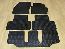 Mazda 5 (2005-11) Fully Tailored RUBBER Car Mats in Black.