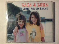 GAIA & LUNA Come Vasco Rossi cd singolo cdm SIGILLATO SEALED!!!