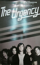 The Urgency - original Mercury 2-sided promotional poster, 2008, 11x17, Mint!