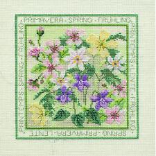 Derwentwater Designs Four Seasons Cross Stitch Kit - Spring