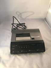 Vtg Sanyo Memo Scriber TRC 9010 Dictation System Cassette Recorder Unit Machine