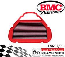 FM202/09 Filtro de Aire BMC Yamaha 600 R6 1999 2000 2001 Lavable Racing Sport