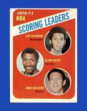 1971-72 Topps Set Break #138 NBA Scoring Leaders EX-EXMINT *GMCARDS*