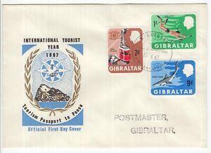 British Commonwealth GIBRALTAR FDC 1967