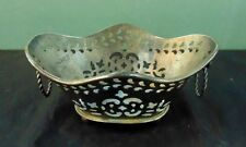 Royal Sheffield Silver Plate Footed Double Handled Bowl