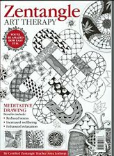 Zentangle Art Therapy Book The Cheap Fast Free Post