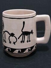New listing Peruvian Hand Painted Mug of The Nazca Peru New