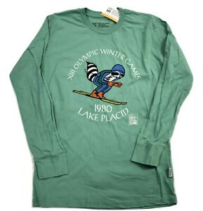 Olympic Museum Collection Mens Lake Placid XIII Winter Games Shirt XS, S, M, L