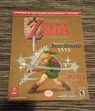 Legend of Zelda LINK TO THE PAST + FOUR SWORDS Prima Official Guide GAME BOY