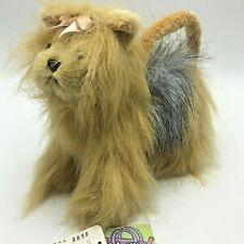 Ganz Yorkie Plush Purse Clutch Pouch Dog Whimsy Clutches Portable Pets