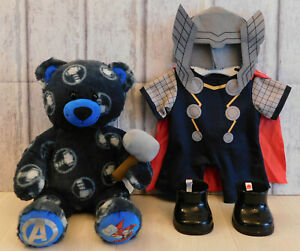 Build a Bear Superheroes Marvel Avengers - Thor Plush, Outfit, Boots, Voice