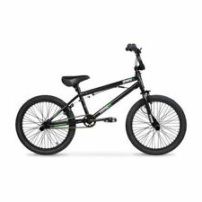 "20"" Black BMX All Terrain Freestyle Bike Tricks Exercises Stunts Street Bicycle"