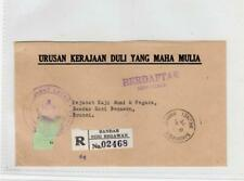 BRUNEI: 1975 Registered Official cover (C47795)