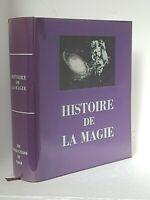 HISTOIRE DE LA MAGIE - FRANCOIS RIBADEAU-DUMAS - ALCHIMIE - HYPNOTISME