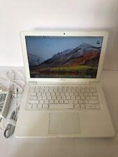"""Macbook A1342 Unibody 13"""" LCD 2.26ghz or 2.4ghz 4gb Ram 320GB HDD OS High Sierra"""