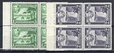 British Guiana 1938-52 1c and 2c Booklet Panes of 4 MNH/MH