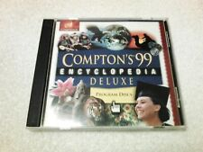 Compton's 99 Encyclopedia Deluxe, 2 Cd-Rom Set, Mindscape, 1998