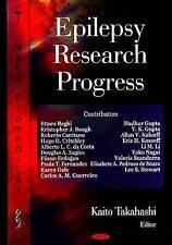 Epilepsy Research Progress - New Book Kaito Takahashi