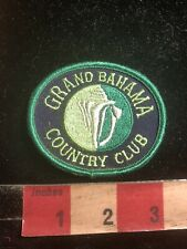 GRAND BAHAMA COUNTRY CLUB Golf Patch C98S