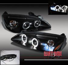 05-10 PONTIAC G6 2DR/4DR TWIN HALO LED PROJECTOR HEADLIGHT BLACK 06 07 08 09 NEW