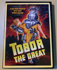 Tobor the Great (DVD, 2008) 1954 B&W CLASSIC FILM USA REGION 1 w/ POSTER INSERT