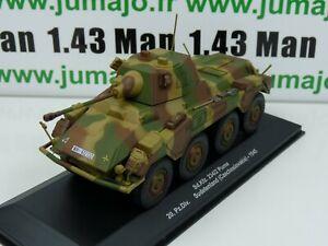 WW18 Eaglemoss 1/43 Blindés WW2 : SdKfz 234/2 Puma Czechoslovakia 20 PzDiv 1945