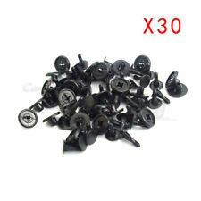 30x Bumper Fender Hood Retainer Clip Fastener Reference For Toyota 9046707166