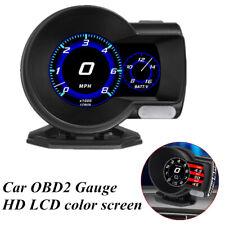 Car Multi-function OBD2 Gauge HUD Head-Up Digital Display Boost Data Scan Tool