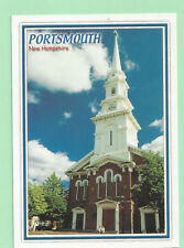POSTCARD  NORTH CHURCH PORTSMOUTH  NEW HAMPSHIRE  NH-321    NEW