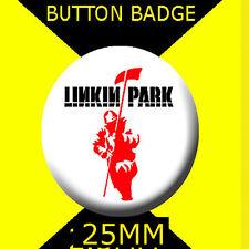 LINKIN PARK - IMAGE LOGO- Button Badge 25mm D PIN BACK #CD67