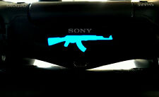 4x Sticker Lightbar Aufkleber PS4  LED Controller AK 47 Premium Folie