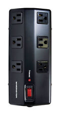 NEW! MONSTER CABLE Just Power It Up Surge Protector 1080 Joules 6-Outlet 15-Feet