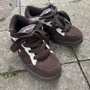 AirWalk mens Skate Sneakers trainers Shoes Brown Suede UK 7 EUR 42 NWB
