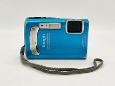 OLYMPUS TOUGH TG-320 14MP Blue DIGITAL CAMERA w/ Lanyard only! NON WORKING Parts