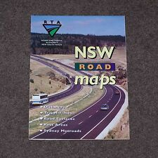 """Vintage roads and Traffic Authority (RTA) """"NSW road maps"""" - 1994 - vgc"""