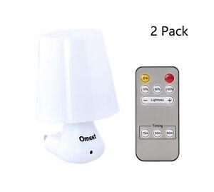 Simple Plug-in Remote Control Led Night Light Decorative Nite - Adjustable Br...