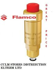 "Set of 2 pcs FLAMCO ""FLEXVENT"" 1/2"" AUTOMATIC AIR-VENT cat. numbet 27750"