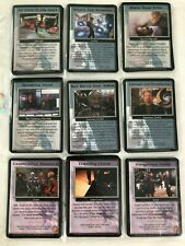 Babylon 5 CCG Wheel of Fire trade Cards
