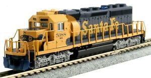 Kato N Scale 176-8210 EMD SD40-2 Santa Fe (AT&SF) Road #5088 DCC Ready New!