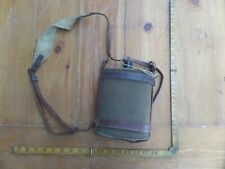 VINTAGE ANTIQUE OLD AUSTRALIAN WW1 MILITARY WATER BOTTLE CANTEEN WALLACE LONDON