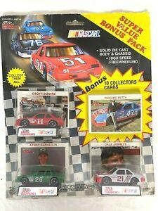 1990 Racing Champions NASCAR Super Value Bonus Pack Bodine Bernstein Jarrett