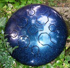 EDELSTAHL Tongue Drum Handpan - Stardust Single Vibedrum – B - 9 Töne - 31 cm