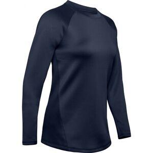 Under Armour Women's Coldgear Armour Long Sleeve Shirt NAVY XL