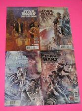 STAR WARS SHATTERED EMPIRE # 1,2,3,4 comic FORCE AWAKENS MOVIE prequel MARVEL