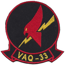 Electronic Attack Squadron 33 VAQ-33 United States Navy USN Embroidered Patch