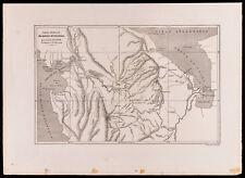 1880 - Carte du Darien Méridional - Panama - Colombie - Lucien Napoléon B. WYSE