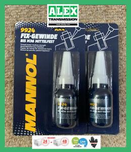 Threadlock fix-gewinde 2qty Medium Strength Locker Screw Nut Sealer Mannol 10ml