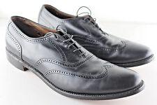 ALLEN EDMONDS MARLOW Noir Bout d'aile Richelieus Chaussures pointure 11.5 AAA UE