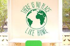 There Is No Place Like Home Earth Vinilo Pegatinas De Pared Adhesivo Decoración